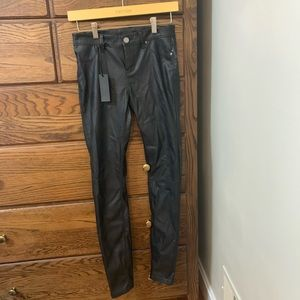 Blank NYC black leather pants